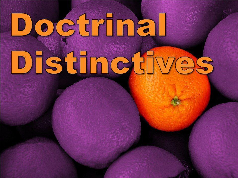 Doctrinal Distinctives